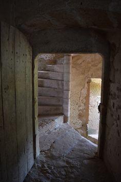 Les escaliers en vis, il y en a 4.