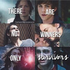The Hunger Games, Percy Jackson, The Maze Runner, Divergent, The Mortal Instruments, Harry Potter