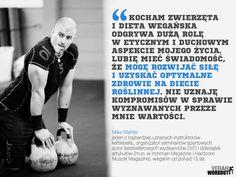 Mike Mahler | #veganathlete #weganizm  #veganworkout.org.pl