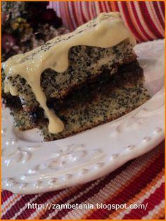 Zambetania: Prăjitură cu mac şi cartofi