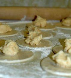 Homemade Pierogies  *I am Polish....this is the first pierogi blog entry/recipe Ive come across that is legit.*
