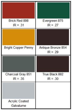 Best Fabral Grandrib 3 Color Chart For Lowe S Home Metal 400 x 300