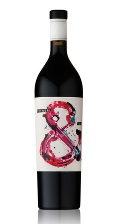 My kind of label! Hither Yon wine label Art Direction/Design by Voice Wine Label Art, Wine Bottle Labels, Wine Bottle Design, Wine Label Design, Beverage Packaging, Bottle Packaging, Impression Etiquette, Wine And Spirits, Fine Wine