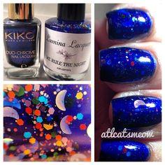 Lumina Lacquer - we rule the night over Kiko - 398