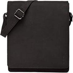 4b85d8f1f LEABAGS London messenger bag shoulder bag for 13 inch laptop of genuine  leather in vintage style