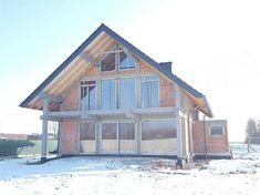 Projekt domu Otwarty 4 171,54 m2 - koszt budowy 247 tys. zł - EXTRADOM Home Fashion, House Design, Cabin, House Styles, Home Decor, Decoration Home, Cabins, Cottage, Interior Design