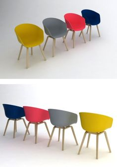 About A Chair AAC 22 by Hay Denmark - Love these chairs!