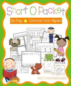 Short O PacketThese worksheets, games, books, and activities will teach the short o sound.  All pages (except for the Go Fish Game) require no prep.  All are engaging for students and make learning to read and spell short o words fun.  Pages Included:*Short O Word Families (practice writing and reading words in the -it, -in, and -ig word families)*Tom the Cop - A short o story to illustrate, cut, and staple*Short O Game - Players move their pieces through o game board with short o…