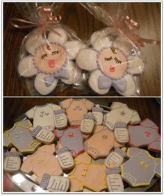 Baby Shower Sugar Cookies How-to