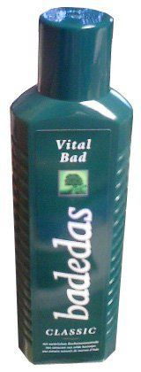 Badedas Classic Vital, CASE (6 x 25oz (750ml)) by Badedas. $53.19. Made with horse chestnut, cedar wood and light patchouli. A revitalizing and delicate fragrance. Product of Germany.