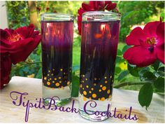 The Blackhearts Shot❣   3/4 oz Pinnacle Berry Vodka  1 drop black food coloring 3/4 oz Rockstar Energy Drink Perfect Berry   Layer.chill.shoot!