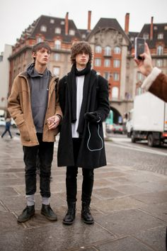George Kirkup-Delph and Love Ronnlund at PFW F/W 2016 by Kuba...