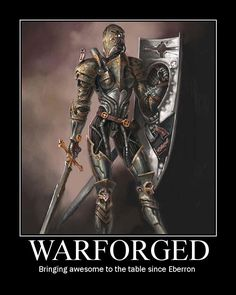 Warforged posted by Welknair
