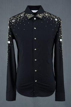 Studs and Jewel Shirt