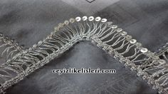 This Pin was discovered by Bel Embroidery Fashion, Embroidery Applique, Hairpin Lace Crochet, Broomstick Lace, Bruges Lace, Tatting Earrings, Bead Sewing, Needle Tatting, Lace Jewelry
