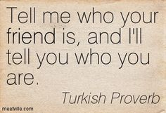 Turkish Proverb Quotes - Meetville