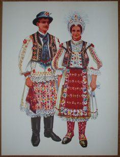 austrian Folk Costumes | Details about Croatia Folk Costume - Torjanci Baranja - II/16