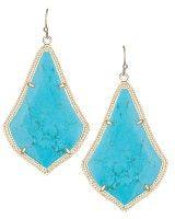 Alexandra Earrings in Turquoise