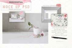 40% oFF! Poster frame mock up  by Mikibith on @creativemarket