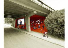 Under the Bridge project, Lisbon, Portugal. 2013 Crisis Buster grants programme - Lisbon Architecture Triennale