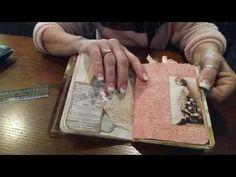 Vintage junk journal - YouTube