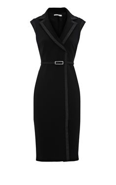 Black Contrast trim pencil dress by Karen Millen.