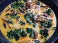 Swiss Chard and Potato Frittata | Sarah James | http://www.talesfromthekitchenshed.com