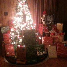 After 'Santa' came. :)