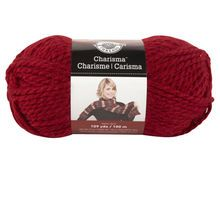 Want: Loops & Threads® Charisma™ Yarn  - Red