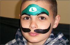 Medium Face Paint Designs for Boys Gallery