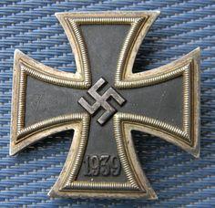 Luftwaffe, Cross Of Iron, First Class, War Machine, World War Ii, Badges, Wwii, German, Group