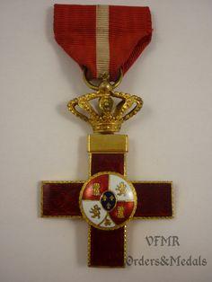 Spain - Cross 1st class military merit red (1876-1931)