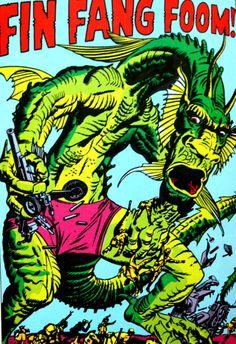 Classic Marvel Comics monster...