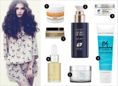 REPLENISH:A moisture treatment is essential after a long winter. We love using a moisture mask while watching a movie or taking a long bath Put the mask on the ends of your hair only REPLENISH: 1. Andre Walker // 2. PHYTO // 3. PHYTO // 4. Bumble and Bumble // 5. Lea Journo // 6. Lea Journo // 7. Carol's Daughter