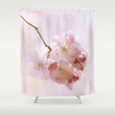Cherry blossoms in Love Shower Curtain  #posters #artworks #graphic design #texture #inspiration #artists #stretched canvas #illustrations #room #products #pretty #colour #inspiration #Wall Art #Home Decor #Throw Pillows #Cards #Mugs #Shower Curtains #Wall Tapestries #Duvet Covers #Rugs #Wall Clocks #Art Prints #Framed Art Prints #Canvas Prints #Editions #Wall  Tapestries #holidaze #christmas