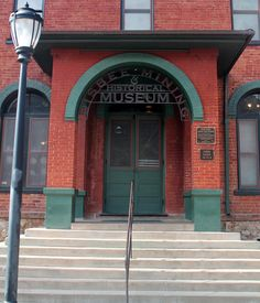 Originally the headquarters of the Phelps Dodge Corporation, now the Bisbee Mining & Historical Museum