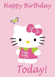 Happy Birthday Cards Pictures Hello Kitty Centerpieces Iphone Wallpaper