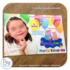 • Convites • Facebook: bigdigitalart.br | Twitter: bigdigitalart | Flickr: bigdigitalart #bigdigitalart #convitesinfantis #conviteinfantil #convitepersonalizado #convite #festainfantil #criacaoconvite #convitespersonalizados #kidspartyinvitation #partyinvitation #birthdayinvitation #birthdayparty #teenbirthdayinvitation #graphicdesign #designgrafico #digitaldesign #digitaldesigns #customprints #comunicacaovisual