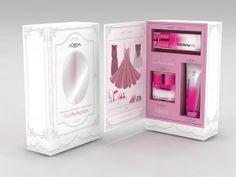 Loreal Press Kit Design by Aysegul Aynali, via Behance