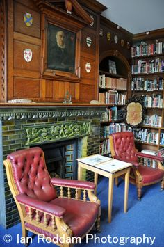Priaulx library, St. Peter Port, Guernsey