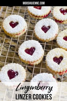 Christmas may have passed but I still wanted to share this linzer cookie with you. While many people make cookies just at the holiday season sometimes cookies like linzer cookies are great year round. These Lingonberry Linzer cookies are fantastic for a tea party or holiday gifting. Linzer Cookies, Toffee Cookies, Spice Cookies, Drop Cookies, Yummy Cookies, Chocolate Chip Cookies, Mini Cookies, Baby Cookies, Heart Cookies
