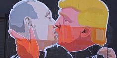Donald Trump And Vladimir Putin Will Not Like This Street Art Mural