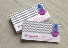 Tupperware business cards style 3 from kz creative services tupperware business brandingbusiness cardscard colourmoves