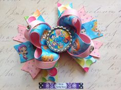 Bubble Guppies Boutique Hair Bow