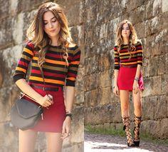Flávia D. - Colorful Stripes