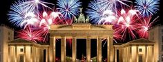 Berlin at new years eve