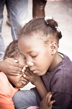 Children all over the world pray for someone to help them...