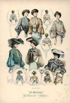 artschoolglasses:  De Gracieuse, 1902
