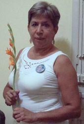 'Dama de Blanco' portando un gladiolo - Wikipedia, la enciclopedia libre