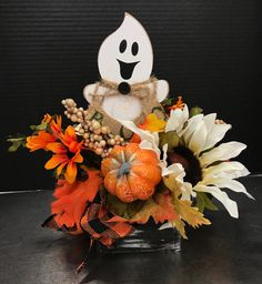 Cute Country Ghost by Andrea